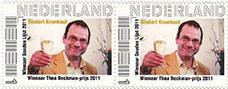 2011-postzegel-thea-beckman-prijs-2