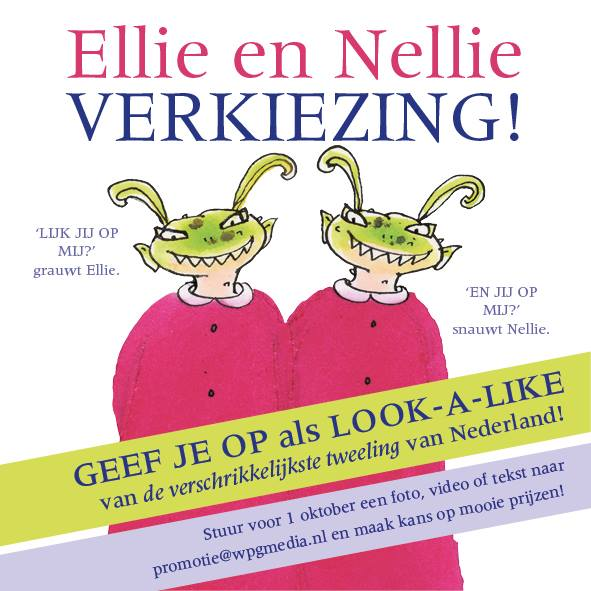 Wie is de beste look-a-like van Ellie en Nellie?